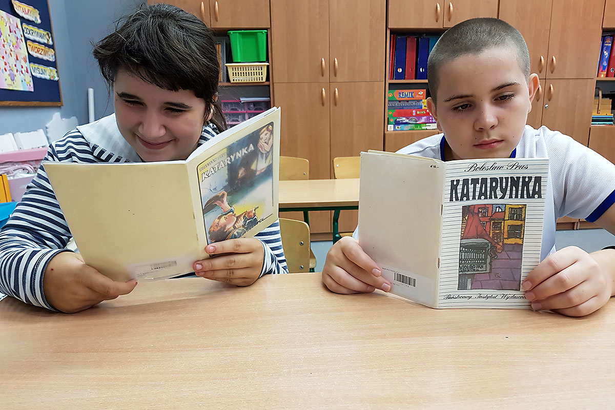 """Innowacja pedagogiczna """"Literackie spotkania…"""" rozpoczęta!"""