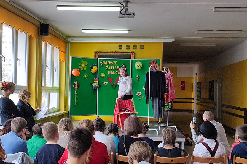 Read more about the article Relacja ze zmagań na konkursie recytatorskim